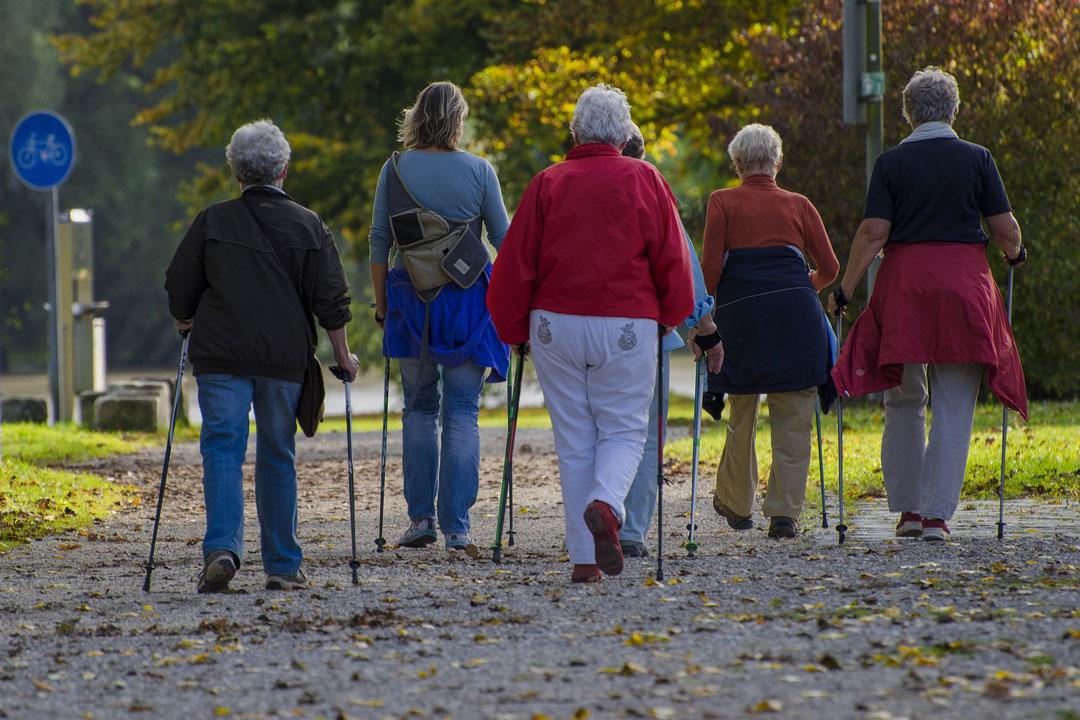 Nordic Walking gegen Osteoporose