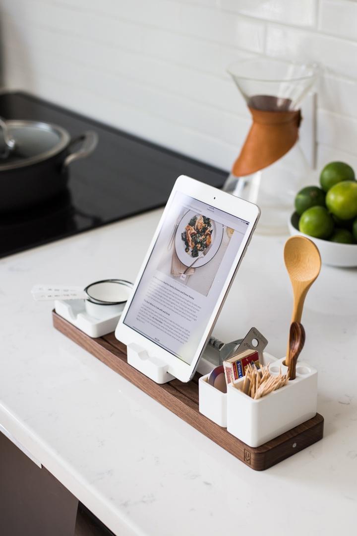 Rezept auf iPad zum Vorkochen