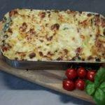 Lasagne - ein ideales Gericht zum vorkochen und mitnehmen