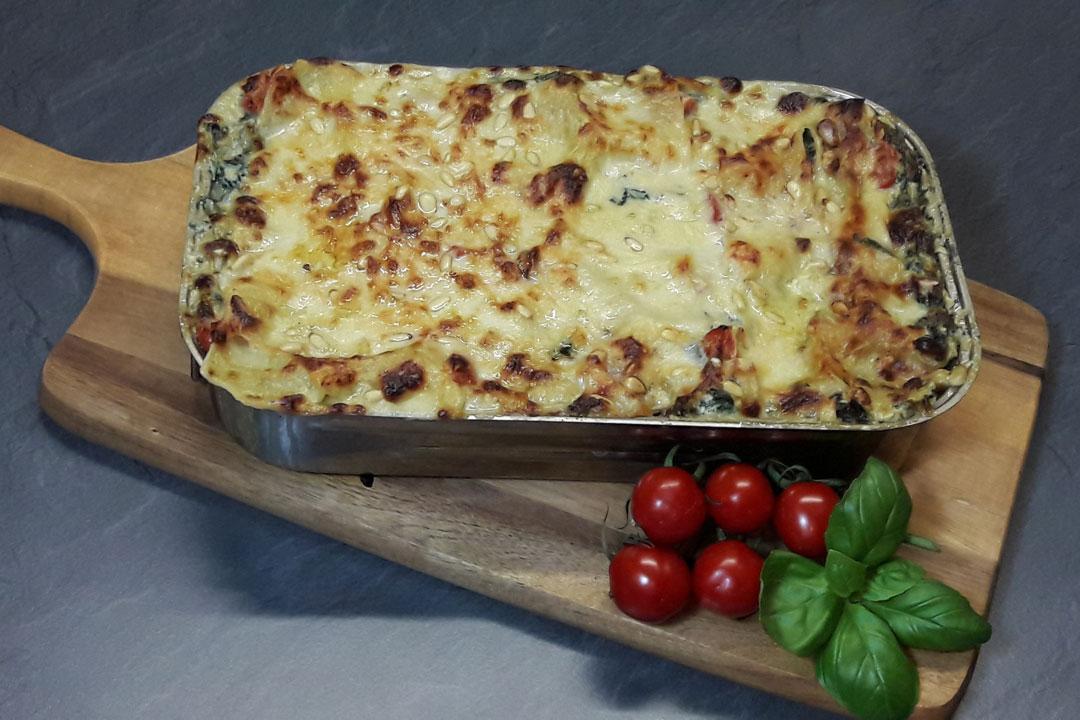 Gemüselasagne Ein Ideales Gericht Zum Vorkochen Und Mitnehmen