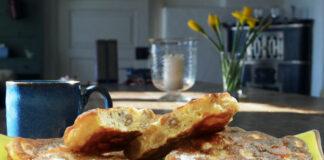 Struwen aus dem Münsterland auf dem Teller serviert