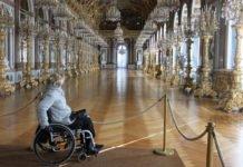 Mit dem Rollstuhl zu den Schlösser von König Ludwig II.