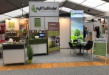 myPfadFinder Messestand an der MIR 2018 in Memmingen