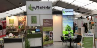 myPfadFinder Messestand an der MIR 2018 in Memmingen