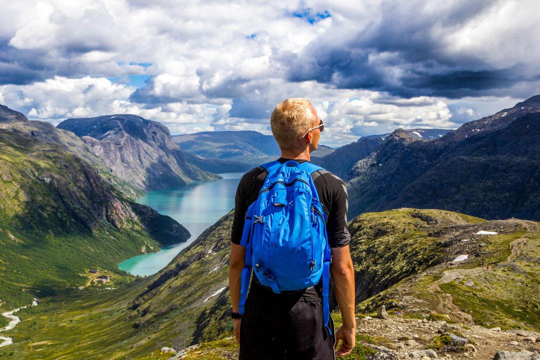 Wandern eignet sich auch optimal für weniger trainierte Personen.
