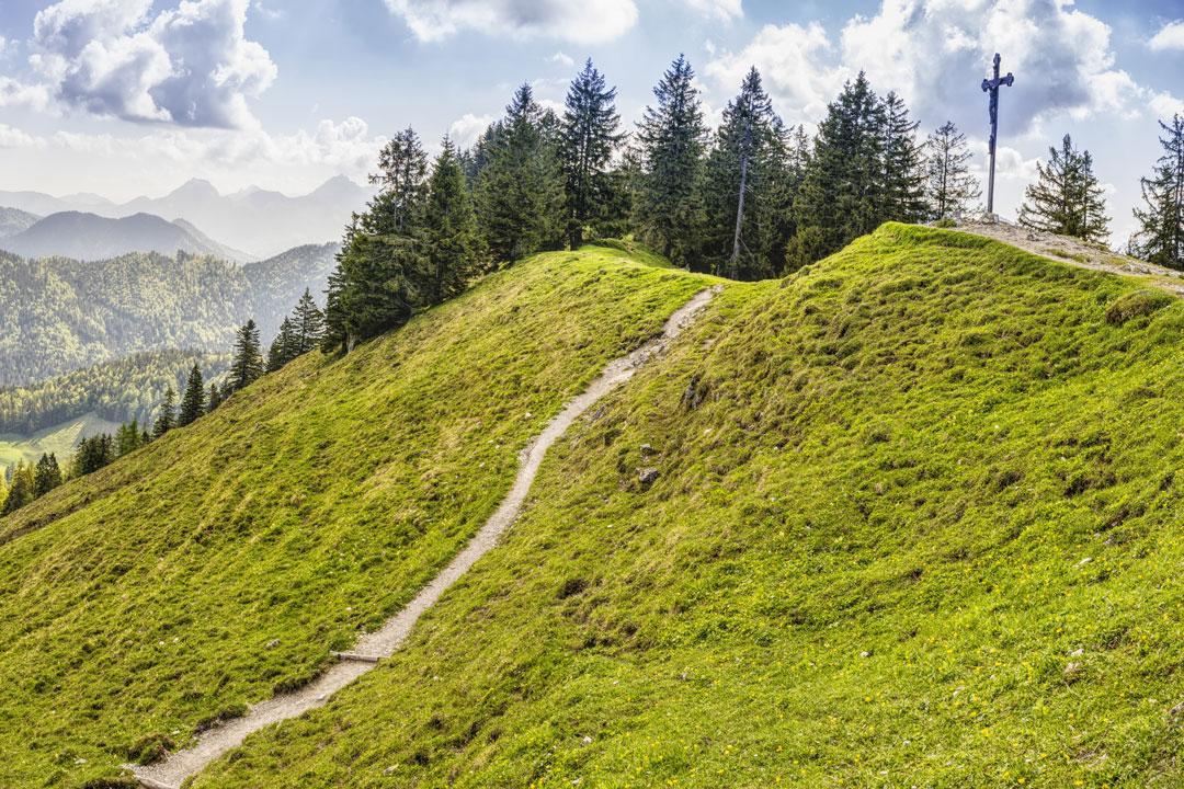 Die Auswahl der Wanderroute sollte auf Basis der körperlichen Verfassung getroffen werden.