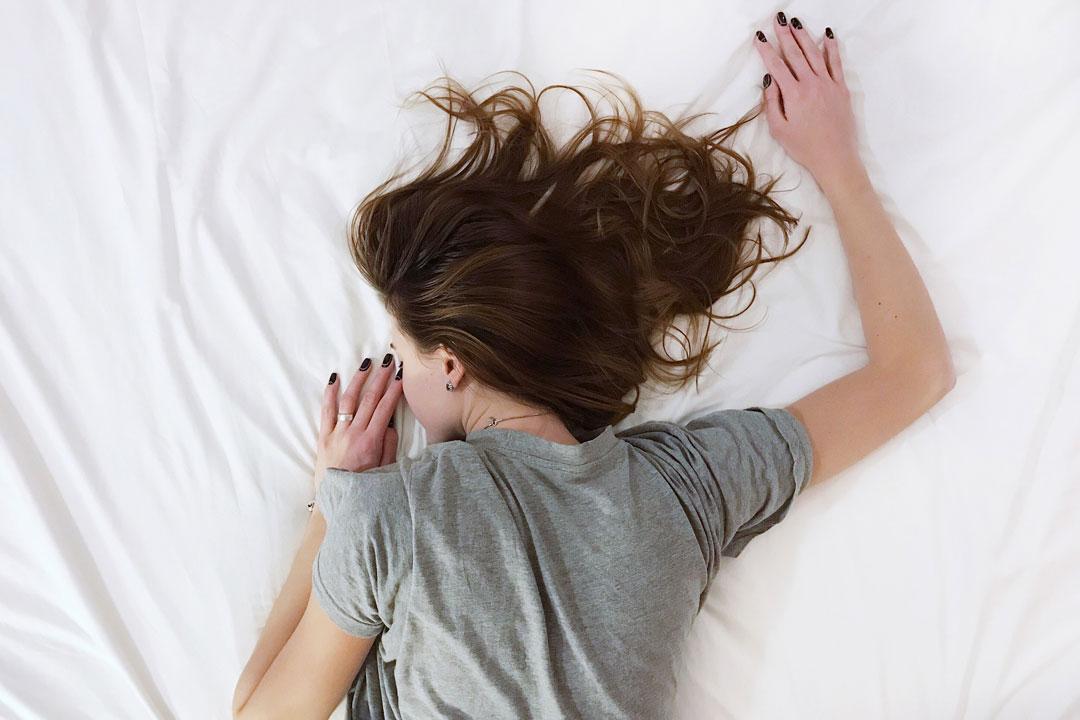 Wer schlafen kann, darf glücklich sein.
