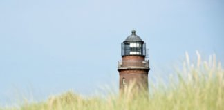 Leuchtturm Darß an der Ostsee