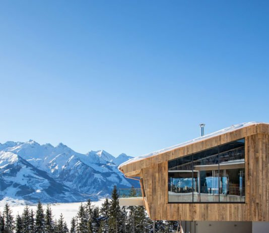 Die Areit Lounge auf der Schmittenhöhe