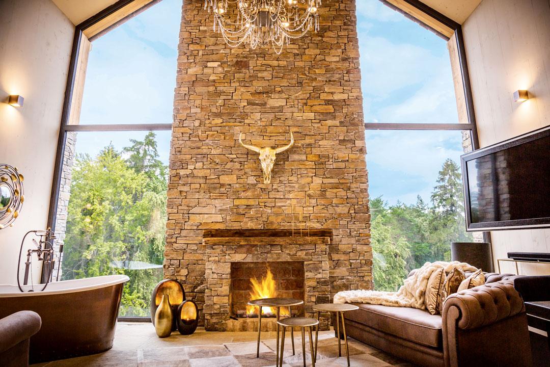 Golden Hill Chalet Goldfuchs - Landhaus Steinfuchs – 180 m² romantischer Wohntraum für 2 bis 6 Personen mit Private Spa.