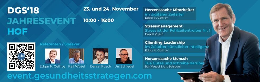 DGS'18 Herbstevent Hof - Mitarbeiterbeziehung im digitalen Zeitalter