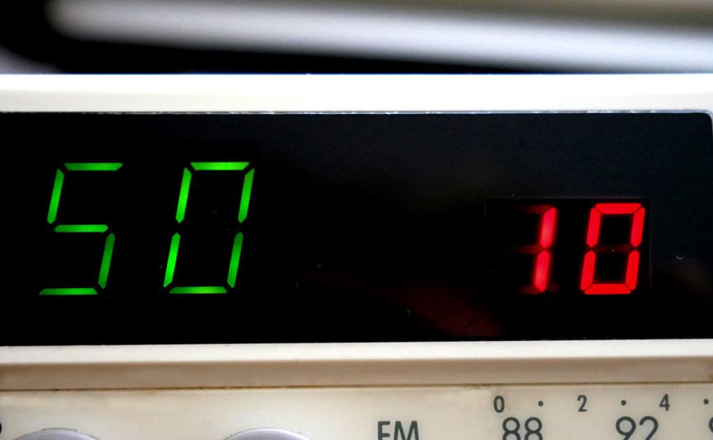 In den Anfängen der LED Ära wurden diese oft zur Zifferndarstellung genutzt.