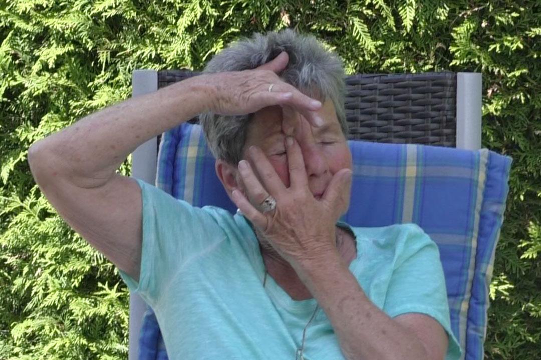 Augen entspannen mit Augenmassage