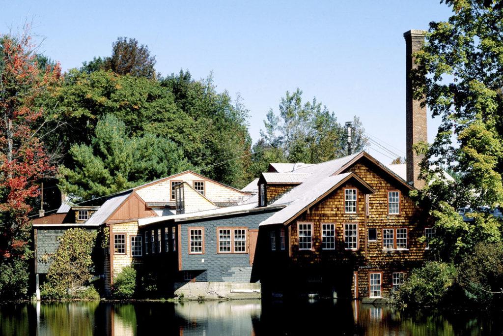 Alte Mühle mit Gastronomiebetrieb.