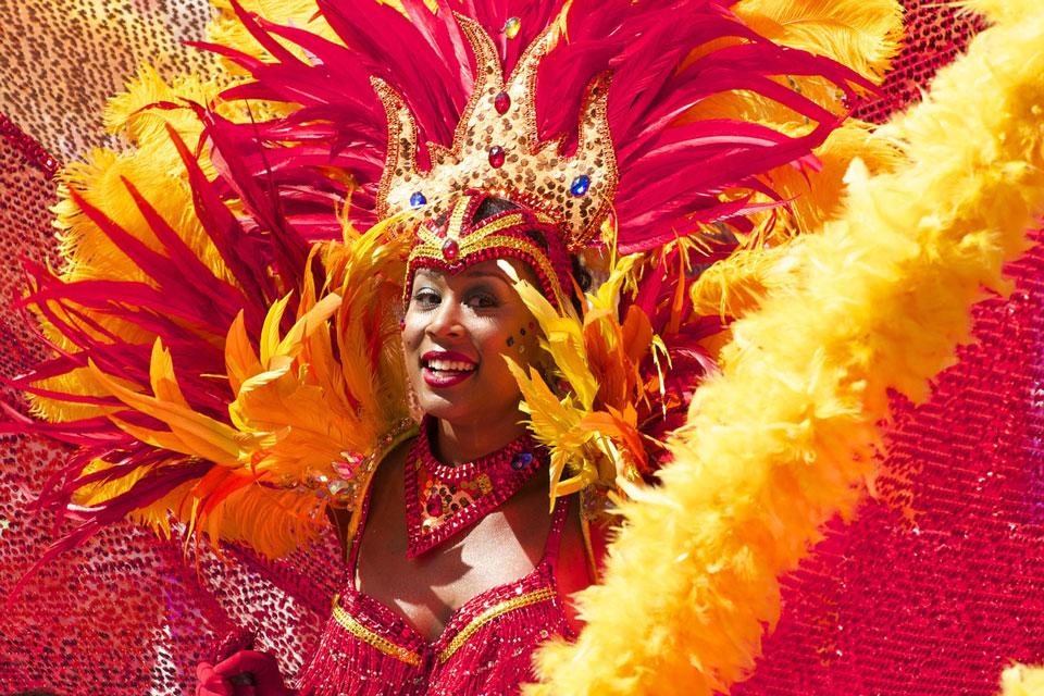 Der Karneval in Rio ist ist fest in der Hand der Sambaschulen.