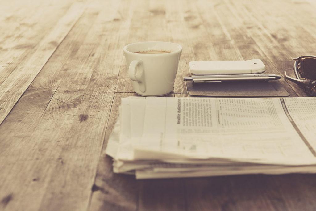 Am Abend saß ich wie so oft vor der Zeitung und dem Laptop und studierte den Immobilienmarkt.