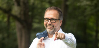 Christian Holzhausen im Grünen