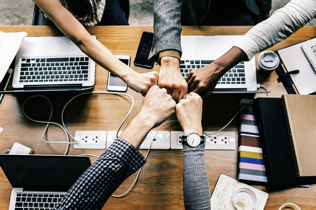 Durch die Collaboration ist die Zusammenarbeit im Team einfacher