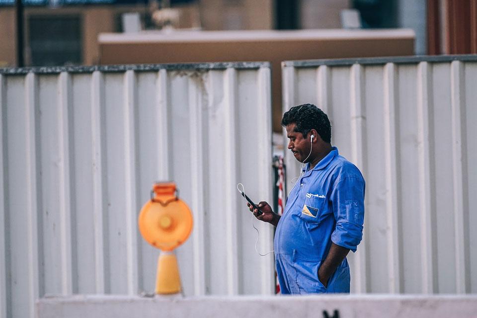 Bauarbeiter fehlt die notwendige Motivation.