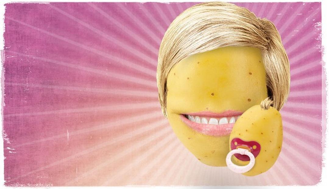 Kartoffel-Knolle zum Muttertag