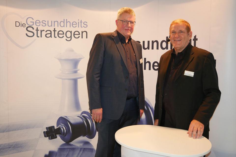 Ernährung, Bewegung, Verhalten: Ralf Wuzel und Edgar K. Geffroy von den GesundheitsStrategen