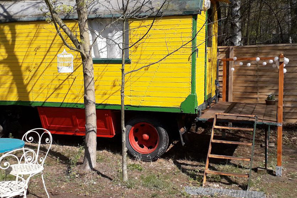 Zirkuswagen für spontanen Kurzurlaub