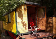 Spontaner Kurzurlaub im Zirkuswagen