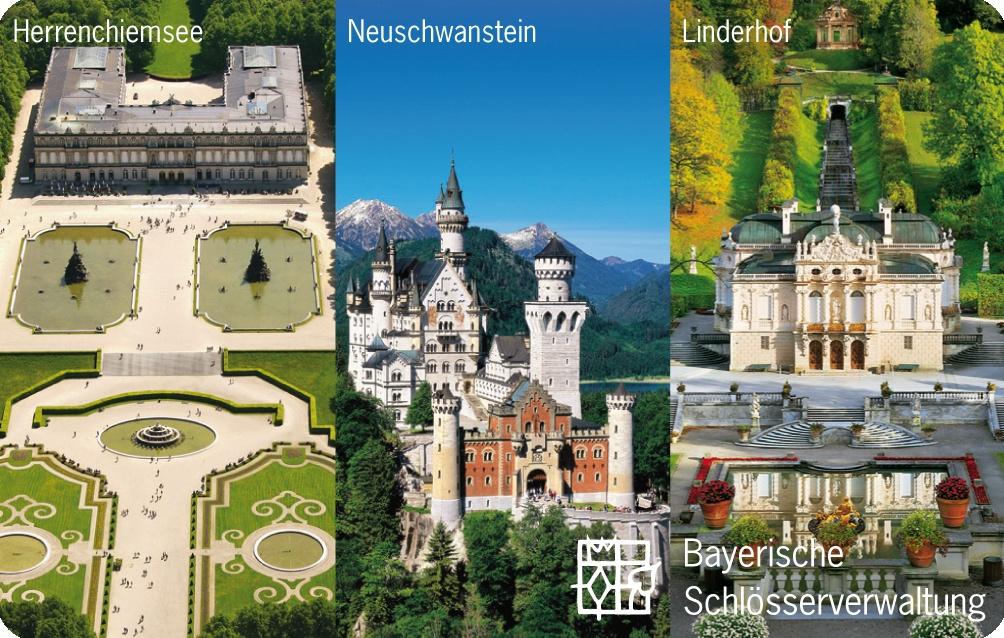 König Ludwig Schlösser-Ticket