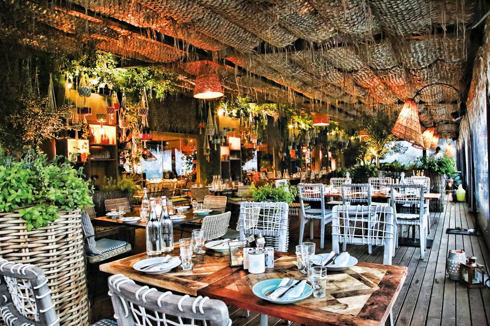 Restaurant des Bikini Hotels auf Mallorca