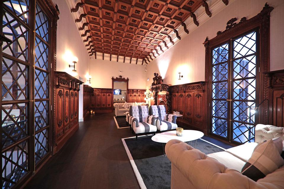 Lobby vomSummum Prime Boutique Hotels auf Mallorca