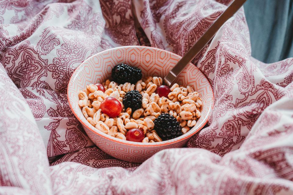 Ein Müsli zum Frühstück