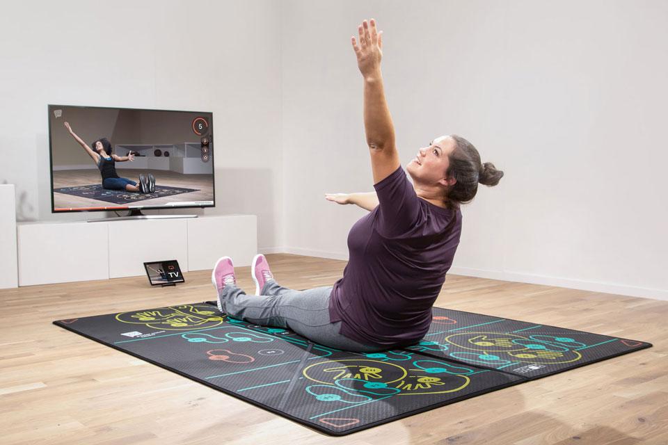 Bewegung für Übergewichtige ist besonders wicht und kann sehr gut Zuhause gemacht werden