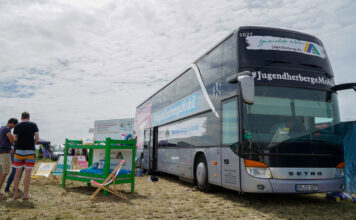 Erste JugenherbergeMobil in Deutschland