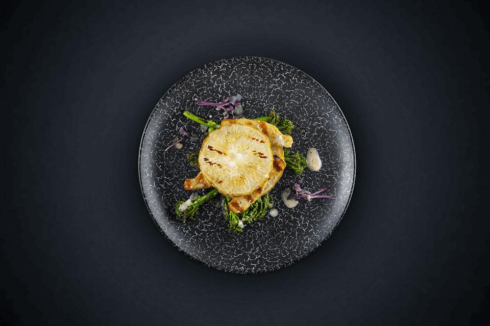 Bratstreifen-Sellerie-Burger