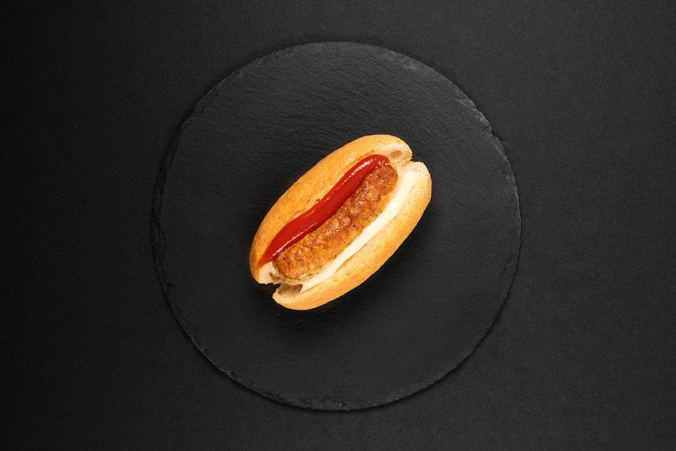 Hot-Dog mit Rostbratwürstchen