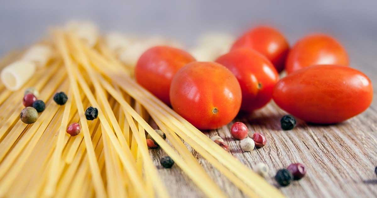 Spaghetti und Tomaten gelten als gesunde Kohlenhydrate