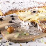 Süß, buttrig und saftig: der Kartoffelstollen