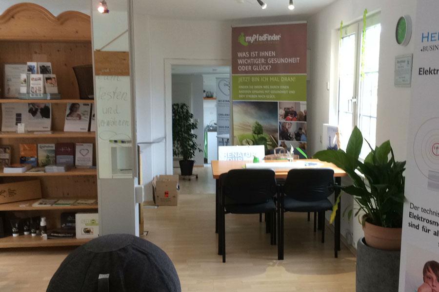 Arbeitsplatz im Stadtbüro in Bad Berleburg