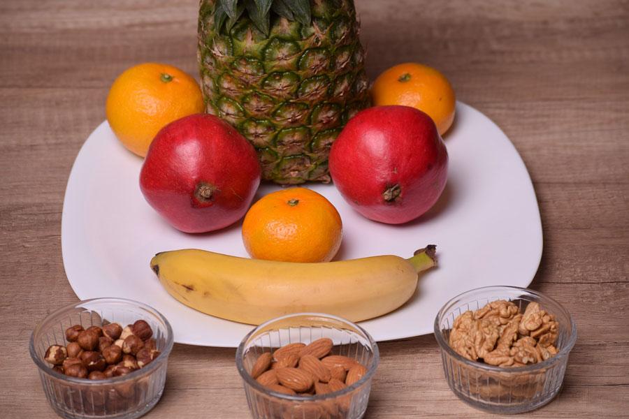 Eine Aufstellung von Lebensmittel aus dem Supermarkt, die als Superfood gelten