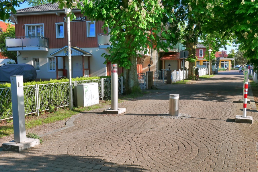 Zufahrt zum Strand in Prerow